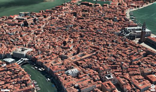 Venedig i Apples kartor
