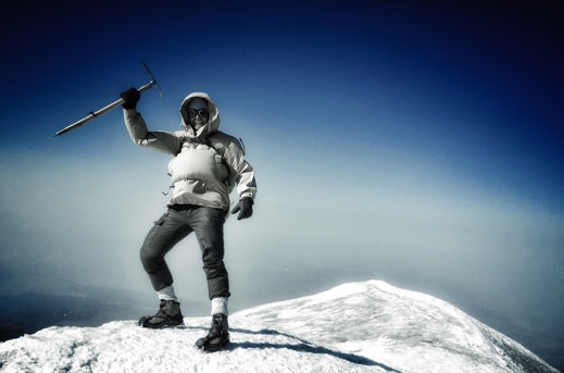 Mt Ararat summit, 5137m, Richard Holmgren