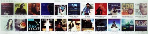 Skivsamling i iTunes