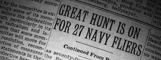 The New York Times och sökandet efter Flight 19, 6 dec, 1945