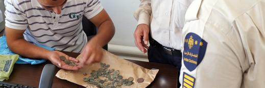 Jordansk lagstiftning stoppar exporten av plundrat gravgods. Foto: Richard Holmgren