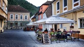 Brasov i Transsylvanien