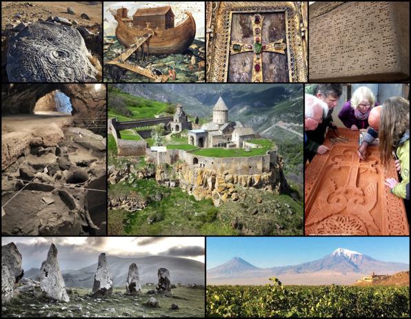 Resa till Noas land vid Ararat