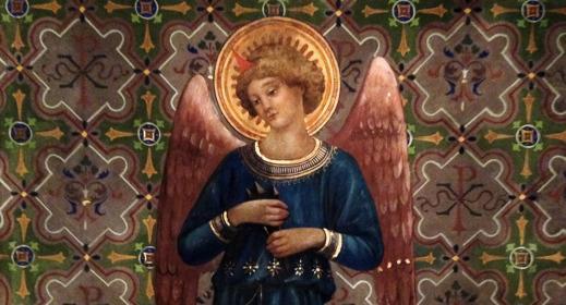Målning från Birgittinorden i Rom. Foto: R. Holmgren
