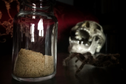Zombiepulver från Haiti. Foto: Richard Holmgren