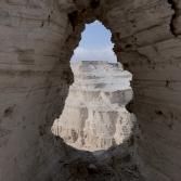 Klosterliv vid Döda havet