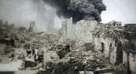 Arkeologi & Konflikter (fotot är arrangerat)