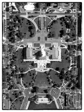 Kapitolium sett från ovan. Foto: Google Maps