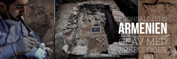 Utgrävning med arkeologer