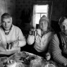 Richard Holmgren, Ekaterina Zimina and Konstantin Keller in Ushma village