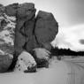 Majestic stones, Lozva river