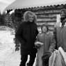 Richard Holmgren, Maria and Andreas Liljegren, mansi village