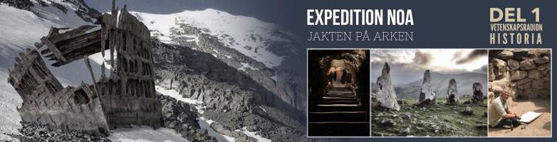 Expedition Noa Vetenskapsradion Historia
