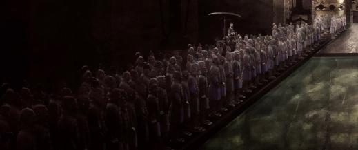 Oupptäckta Skatter - Qin Shi Huangdis grav. Illustration Richard Holmgren ARCDOC