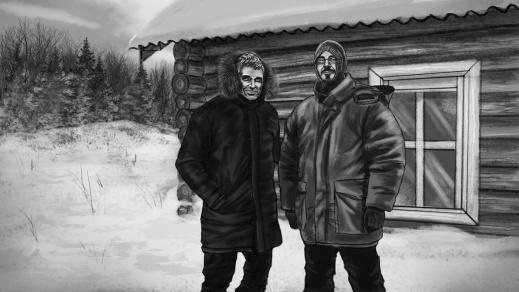 Richard Holmgren and Andreas Liljegren, Dyatlov Pass 2019. Illustrations: courtesy of Bedtime Stories 2019.