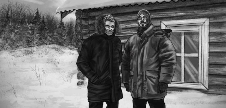 Richard Holmgren and Andreas Liljegren, Dyatlov Pass 2019. Illustration: courtesy of Bedtime Stories 2019.