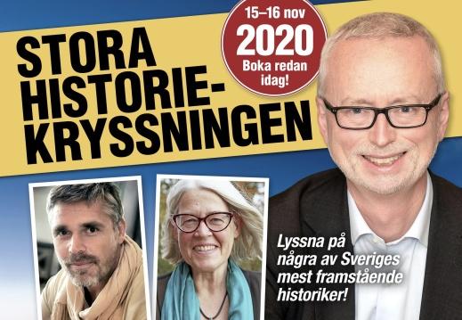 Stora Historiekryssningen med bland andra Richard Holmgren, Ulrika Knutson och Dick Harrison. Foto:  Populär Historia