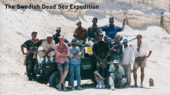 The Swedish Dead Sea Expedition 1997