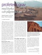 Profetens grav, artikel av Richard Holmgren