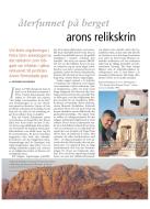 Arons reliker. Artikel av Richard Holmgren