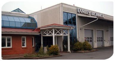Lambes huvudkontor i Oxie / Malmö