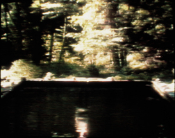 Bill Viola, The Reflecting Pool, 1977-79. Videotape, color, mono sound. 7:00 minutes. Photo Kira Perov