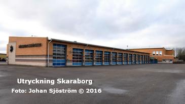 Falköpings brandstation | Foto: Johan Sjöström