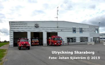 Floby brandstation | Foto: Johan Sjöström