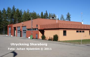 Karlsborgs brandstation | Foto: Johan Sjöström