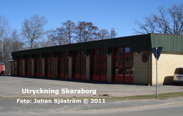 Hjos brandstation | Foto: Johan Sjöström