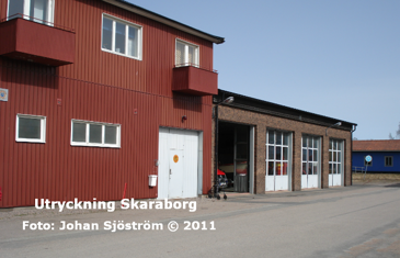 Gullspångs brandstation | Foto: Johan Sjöström