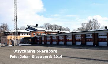 Skövdes brandstation | Foto: Johan Sjöström