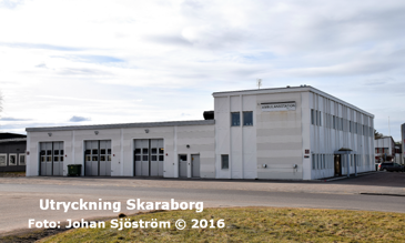 Skaras ambulansstation | Foto: Johan Sjöström