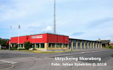 Skaras brandstation | Foto: Johan Sjöström
