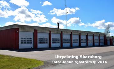 Varas brandstation | Foto: Johan Sjöström