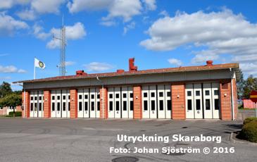 Nossebros brandstation | Foto: Johan Sjöström