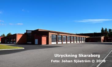 Lidköpings brandstation | Foto: Johan Sjöström