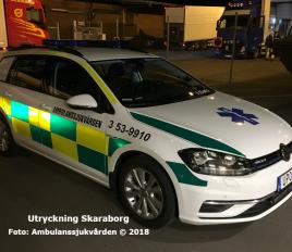 3 53-9910 | Foto: Ambulanssjukvården