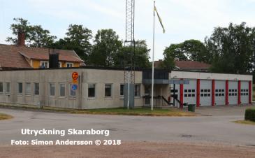 Tibros brandstation | Foto: Simon Andersson