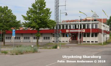 Mariestads brandstation | Foto: Simon Andersson