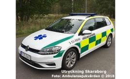 3 53-9940 | Foto: Ambulanssjukvården