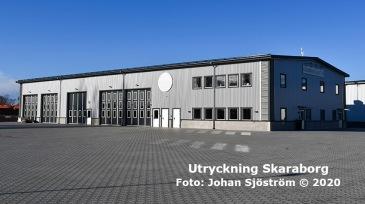 Kvänums brandstation | Foto: Johan Sjöström