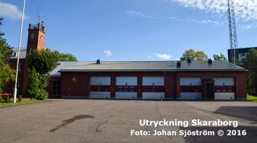Grästorps brandstation | Foto: Johan Sjöström
