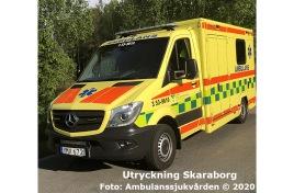 3 53-9610 | Foto: Ambulanssjukvården
