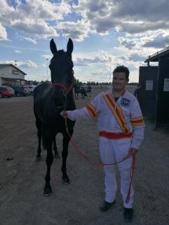 Phoenix Photo och Karl Aikio efter godkänt kvallopp på Romme  20180601