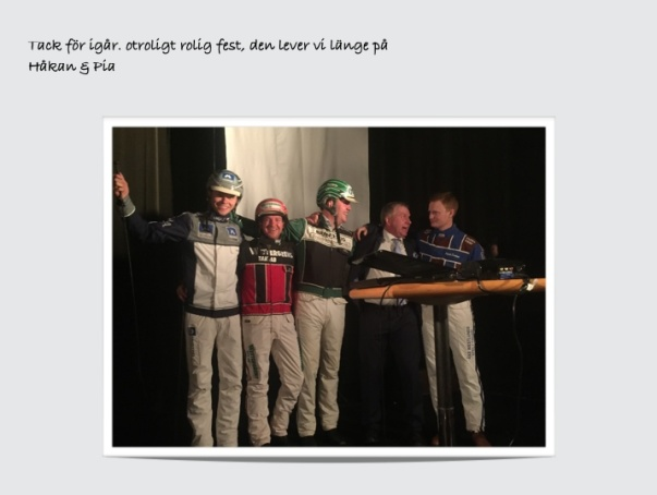Oskar J Andersson,Mats Gunnarsson,Jörgen Westholm,Anders och Patrik Fernlund