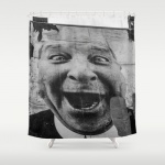 Shower curtain mouth