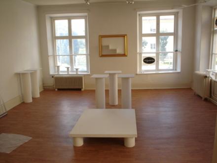 Inre utställningsrum.