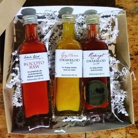 Presentförpackning med Chilisås - Tre sorters chilisås