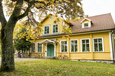 Bilden visar Hus A som innehåller en av boendeavdelningarna